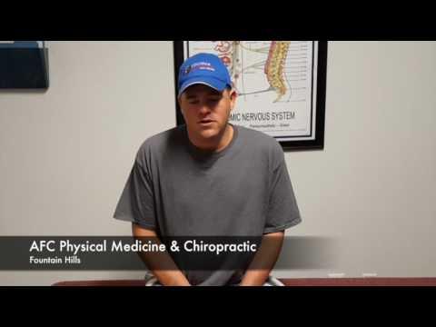 Old sports injury causing serious pain