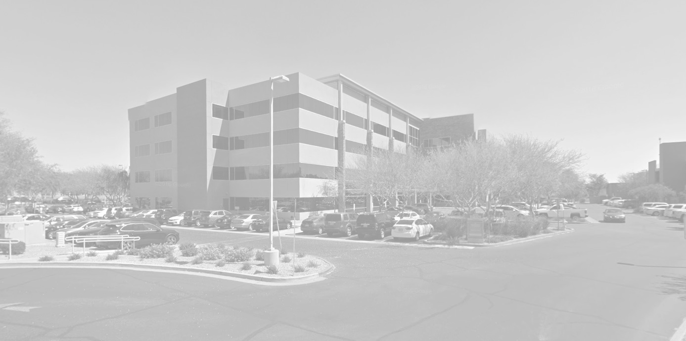 Desert Ridge, Arizona downtown skyline near chiropractor's office