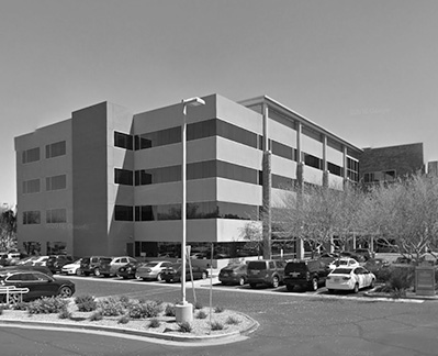 office building in Desert Ridge, Arizona containing chiropractor's office